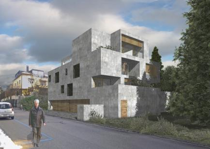 projekt appartmenthaus in zürich zh  2011 -